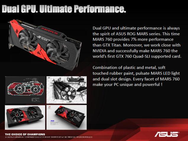 ASUS ROG 760 MARS Dual GPU