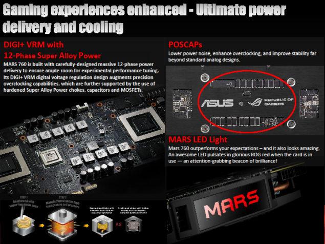 ASUS ROG 760 MARS PCB