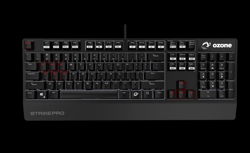 keyboard strike pro