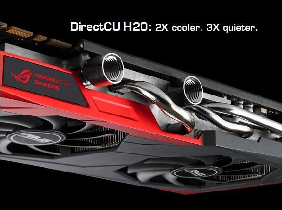 ROG GTX 780 Poseidon DirectCU H20