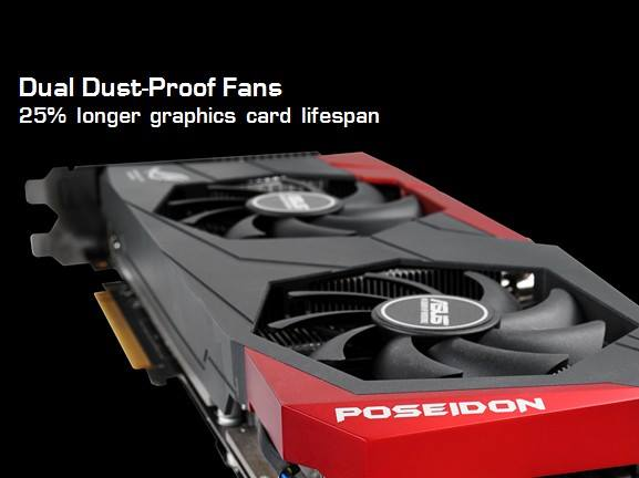 ROG GTX 780 Poseidon Fans