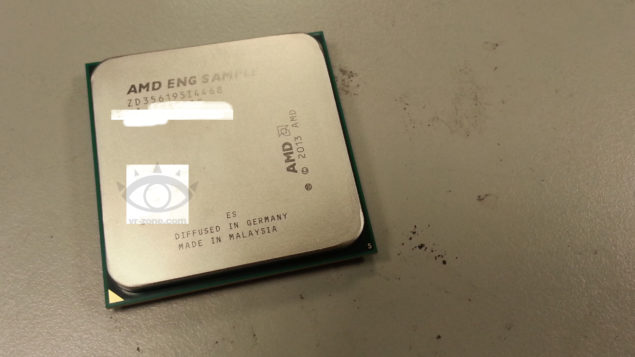AMD Kaveri APU Engineering Sample 1