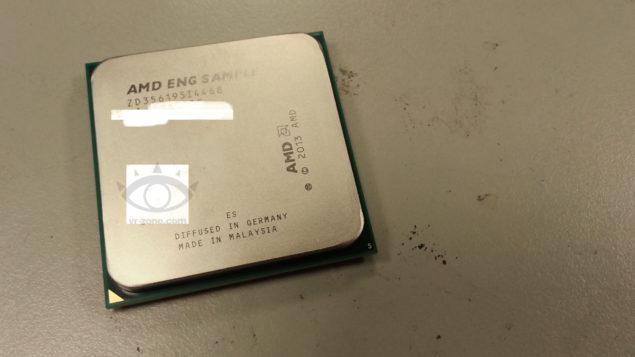 AMD Kaveri APU Engineering Sample 1
