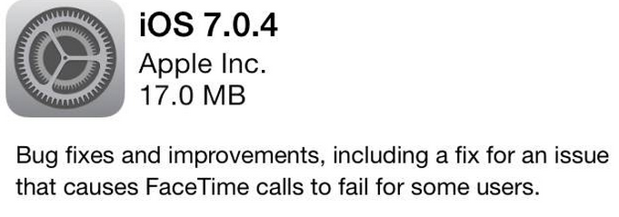 downgrade ios 7.0.4