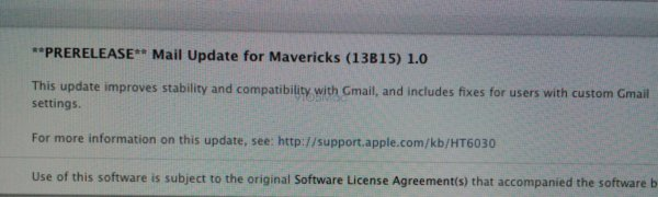 mavericks update