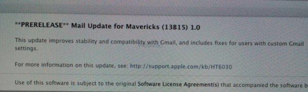 mavericks update