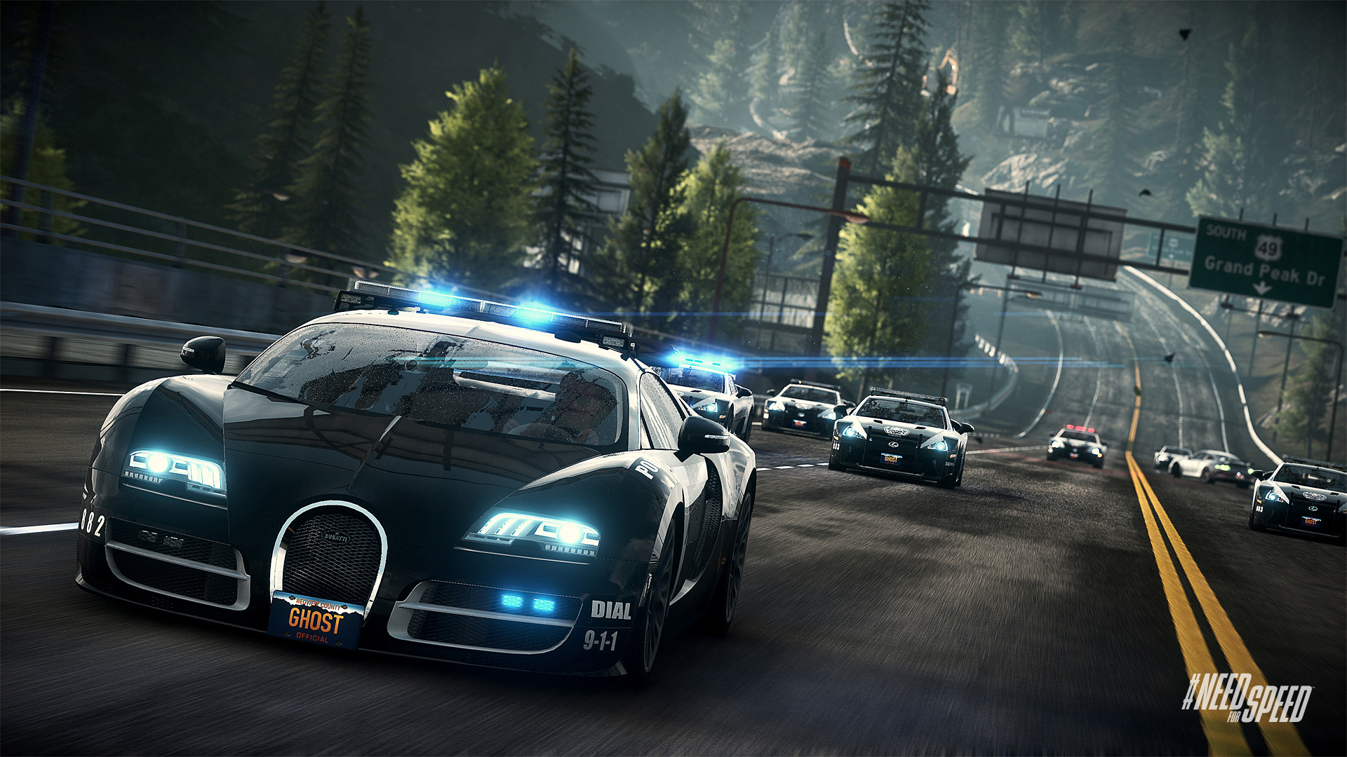 need for speed: rivals gameplay released on xbox one and playstation 4