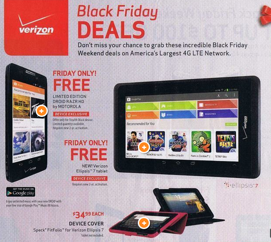 verizon black friday deals 2013