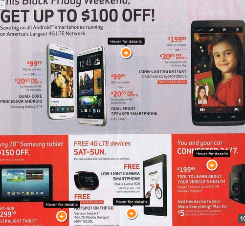 verizon black friday 2013