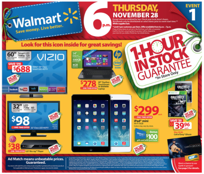 walmart black friday deals Best Black Friday Deals