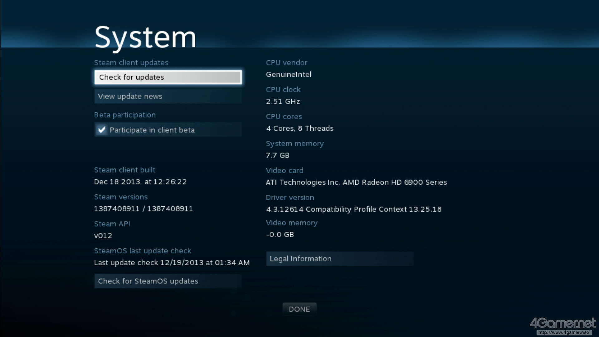 AMD GPU Test On SteamOS - System Recognizes The GPU But