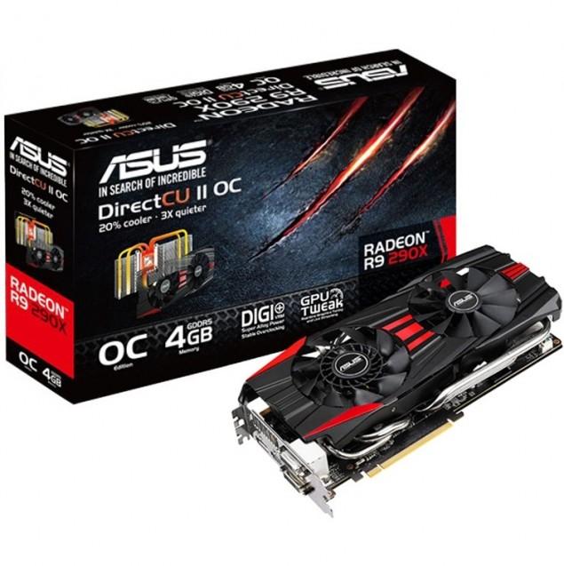 ASUS Radeon R9 290X DirectCU II OC GPU