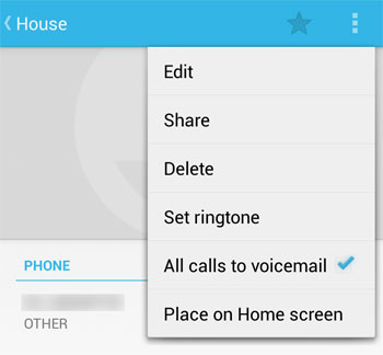 Block Phone Calls on Android