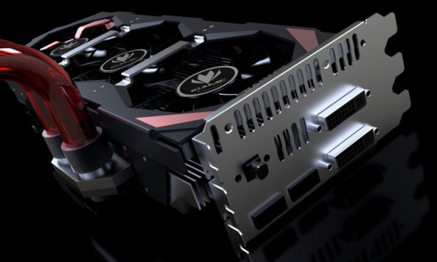 Colorful GTX 780 Ti Kudan Hybrid Slot Cooler