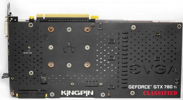 EVGA GeForce GTX 780 Ti Classified Back