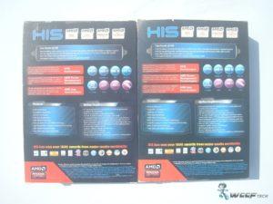 HIS Radeon R7 250 R7 240 Box Back (Custom)