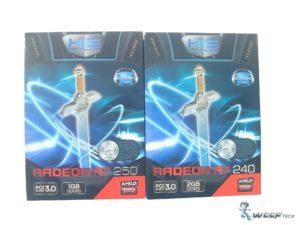 HIS Radeon R7 250 R7 240 Box Front (Custom)