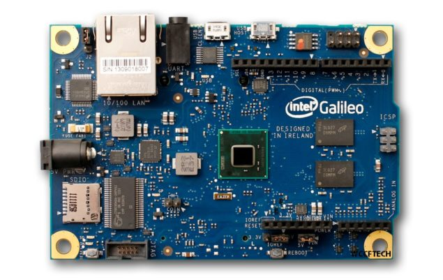 Intel Galileo Quark Arduino