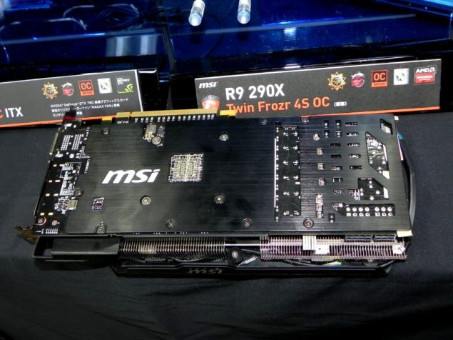 MSI Radeon R9 290X Twin Frozr 4S OC Gaming