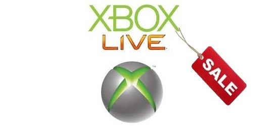 Xbox Live sale