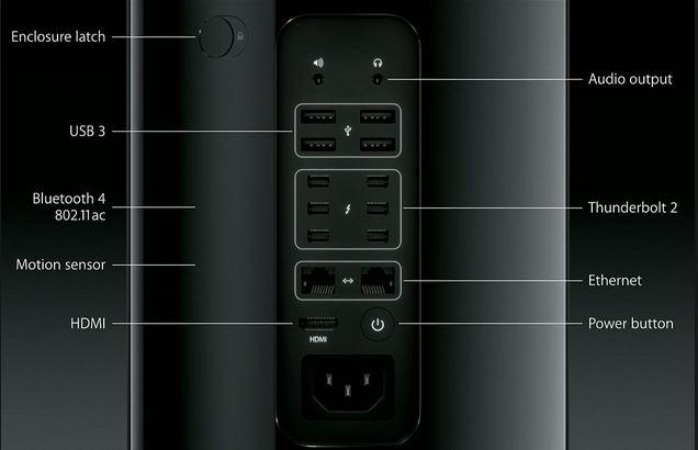 mac pro 2013 specs