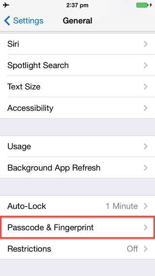 how to improve iPhone 5s fingerprint accuracy