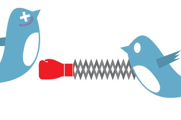 Nokia Samsung Twitter Fight