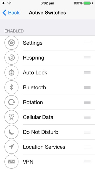 iOS 7 Jailbreak Tweak