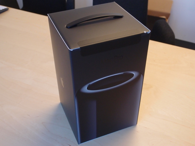 mac pro 2013 unboxing