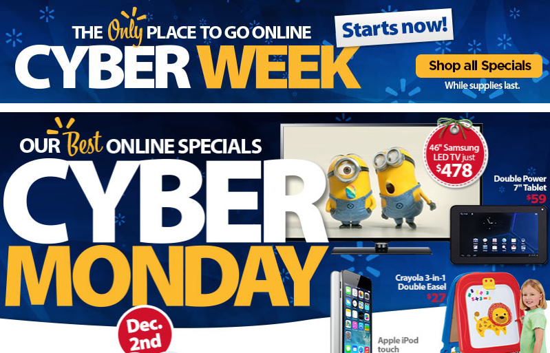 64b23e9b3f6ea5 Best Cyber Monday Deals for U.S. - 2013 Holiday Discounts