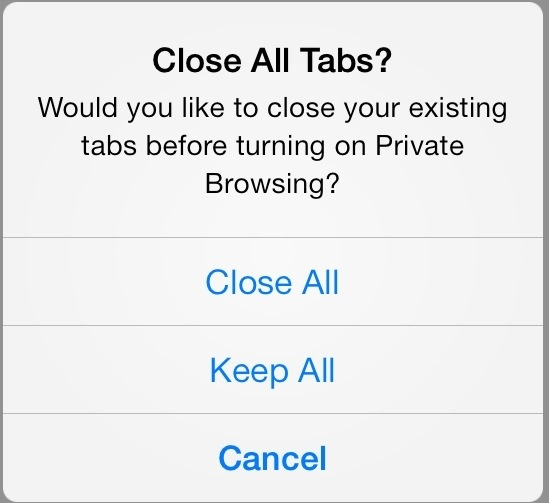 ios 7 safari tips