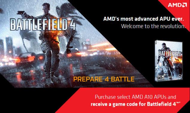 AMD Kaveri Battlefield 4