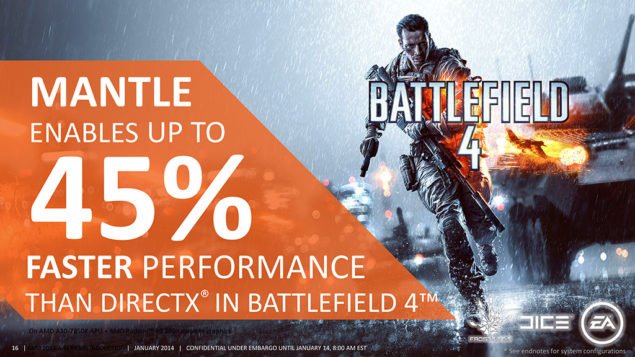 Battlefield 4 Mantle Update