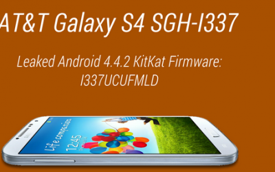 Update Galaxy S4 i337 to Android 4.4