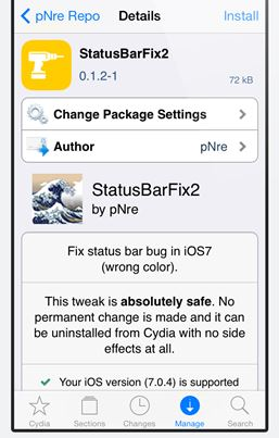 how to add rapidfire tap tweak ios