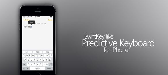SwiftKey iOS 7 Keyboard? Here is Finally an Alternative for iOS!