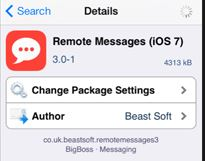 Remote Messages 3 iOS 7