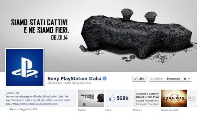 PlayStation Italy