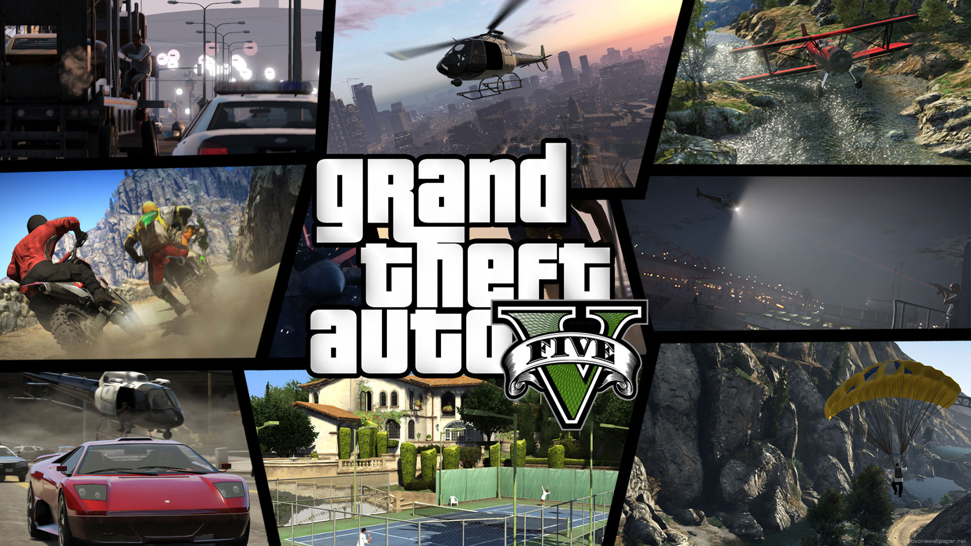 Grand theft auto v pc release possibilities vs - Gta v wallpaper ...