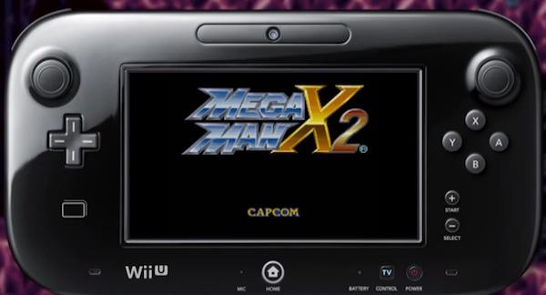 Mega Man X2 Virtual Console Wii U Nintendo