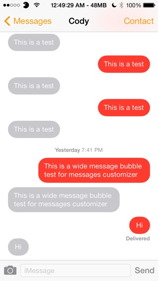 ios 7 jailbreak messages tweak