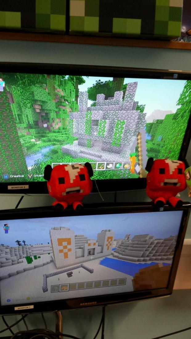 Minecraft TU 14