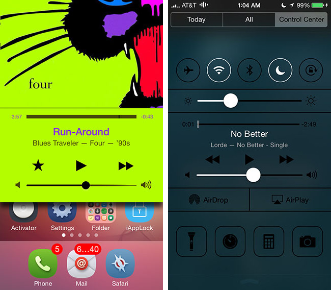 iOS 7 multitasking jailbreak tweak