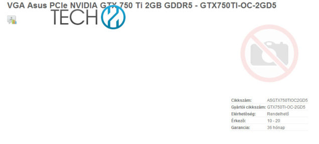 Nvidia Maxwell GTX 750 Ti