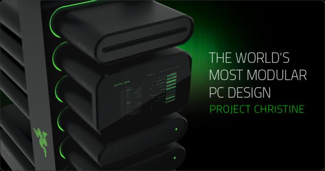 Razer Project Christine Modular PC