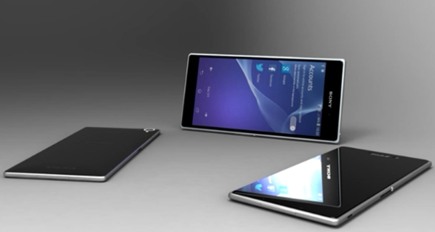 Sony Xperia Z2 and Samsung Galaxy S5 Concepts
