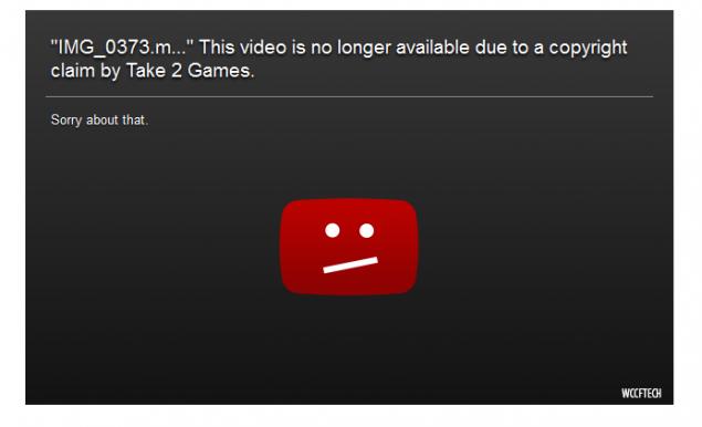 alleged pc video taken down