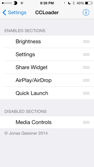 ios 7 control center jailbreak tweak