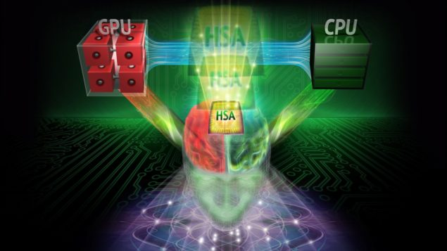 Heterogeneous Systems Architecture will be supported by Kaveri and presumably AMD's 2014 APUs
