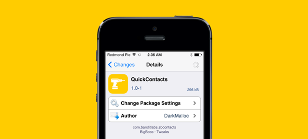 ios 7 jailbreak contact tweak